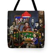 Horror Card Game Tote Bag