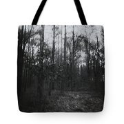 Horror In The Woods Tote Bag