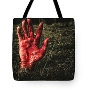 Horror Resurrection Tote Bag
