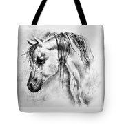 Arabian Horse 1 By Diana Van Tote Bag