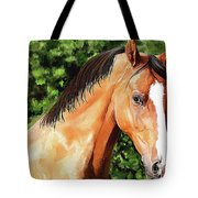 Horse 2 August 2016 Tote Bag