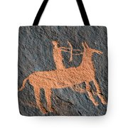 Horse And Arrow Tote Bag