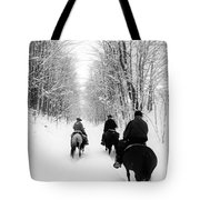 Horse Back Riding Tote Bag