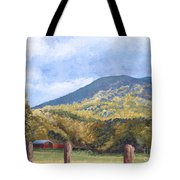 Horse Barn At Cades Cove Tote Bag