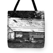 Horse Barn Now Tote Bag