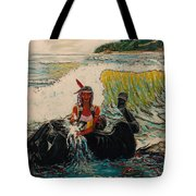 Horse Bath Tote Bag
