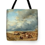 Horse Drawn Carriage Tote Bag