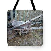 Horse Drawn Seeder Tote Bag