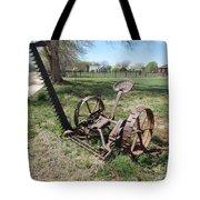 Horse Drawn Sickle Mower Tote Bag