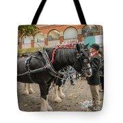 Horse Dray Tote Bag