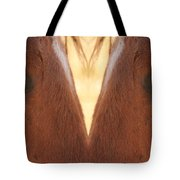 Horse Eyes Love Tote Bag