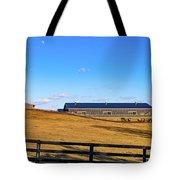 Horse Farm - Rising Moon Tote Bag