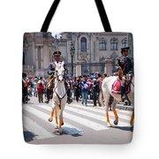 Horse Guard At Parade Tote Bag