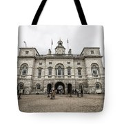 Horse Guards Tote Bag
