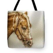 Horse Head Portrait Tote Bag