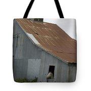 Horse In Barn Tote Bag