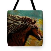 Horse In Heaven Tote Bag
