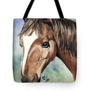 Horse In Love Tote Bag