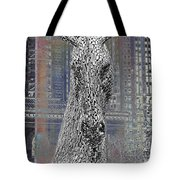 Horse In The City Tote Bag