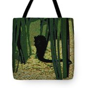 Horse In The Grass Tote Bag