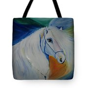 Horse Painting- Knight In Dream Tote Bag