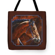 Horse Painting - Ziggy Tote Bag