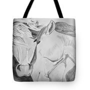 Horse Pair Tote Bag