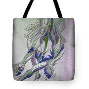 Horse Portrait 02v Tote Bag