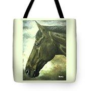 horse portrait PRINCETON bright light Tote Bag