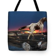 Horse Power Tote Bag