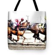 Horse Racing Dreams 2 Tote Bag