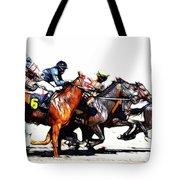 Horse Racing Dreams 3 Tote Bag