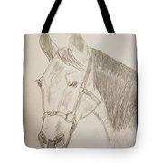 Rosie The Horse Tote Bag