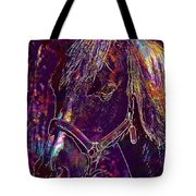 Horse Spanish Arabic Crin Stable  Tote Bag
