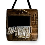 Horse Stall Tote Bag