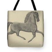 Horse Weather Vane Tote Bag