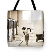 Horse Work Tote Bag