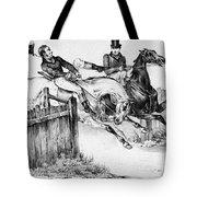 Horseback Riders, C1840 Tote Bag