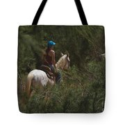 Horseback Riding Kauai Trail Tote Bag