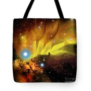 Horsehead Nebula Tote Bag by Corey Ford