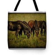 Horses 37 Tote Bag