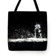 Horses And Men In Rain Tote Bag
