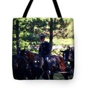 Horses At Arlington Cemetery Tote Bag