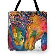 Horses In Love Tote Bag