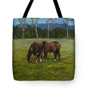 Horses Of Romance Tote Bag