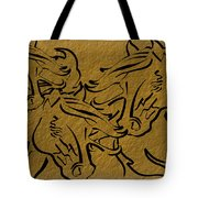 Horses Three Tote Bag