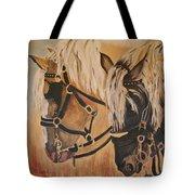 Horseshoe And Dan Tote Bag