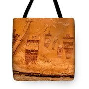 Horseshoe Canyon Great Gallery Group 3 Pictographs Tote Bag