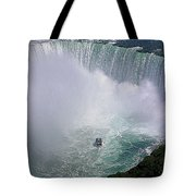 Horseshoe Falls And Maid Of The Mist Tote Bag