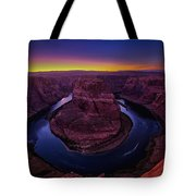 Horseshoe Sunset Tote Bag